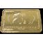 24k Gold Plated Troy Ounce Bar