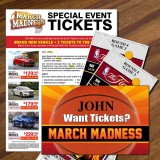 Special Event Sweepstakes Giveaway Tickets
