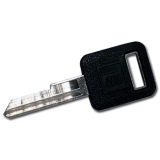 Black Tip Auto Key