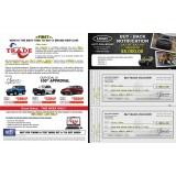 11 x 17 Bi-folded Double Buy Back Multi-Vehicle Jumbo Mailer