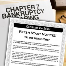 Bankruptcy Mailers