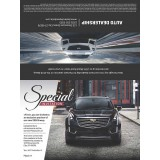 8.25 x 11 Cadillac Advertising Sample for Automotive Direct Mail Marketing