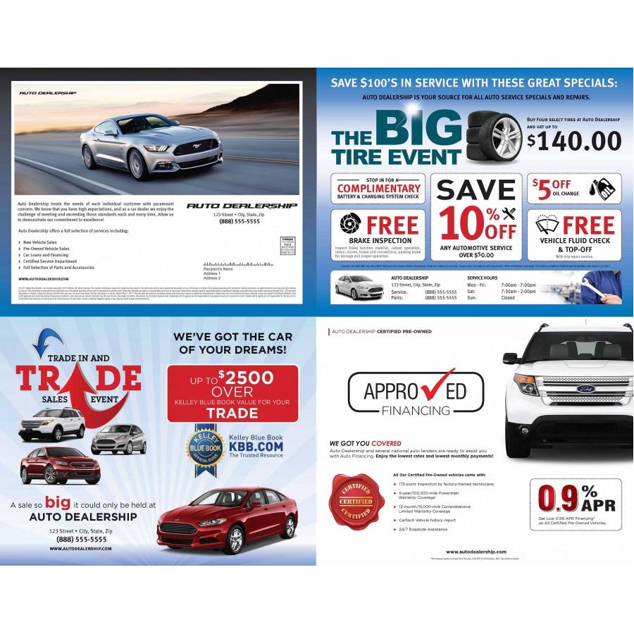 Car Dealership Mailers