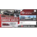 Automotive Industry Postcard Printing Service