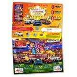 10 x 14 Casino Unlock the Treasure Postcard Automotive Direct Mail Marketing