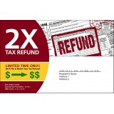 Automotive Direct Mail for Income Tax Return Season T1006