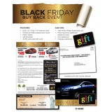Black Friday Seasonal Direct Mail Advertising