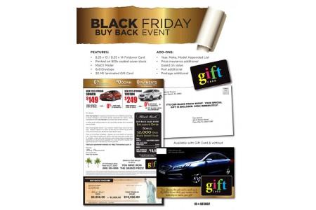 Black Friday Seasonal Direct Mail Advertising