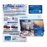 Seasonal Holiday Direct Mail Marketing Cards