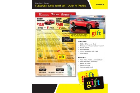 Automotive Direct Mail Marketing Cards