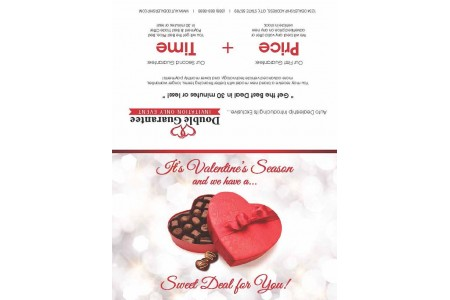 8.25 x 11 Valentine Seasonal Promotion