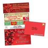 8.5 x 14 Dealership Holiday Card Seasonal Promotion