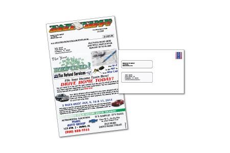 Tax Season Direct Mail Automotive