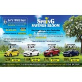 Spring Savings Bloom 6 x11 postcard