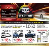 Model Year End Clearance 6x11