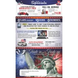 Independence Day Trade-Up Mailer with Coupons
