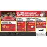 Auto Service Marketing Mailers