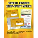 Special Finance Automotive Direct Mail Marketing