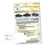 Automotive Special Finance Direct Mail Marketing Piece