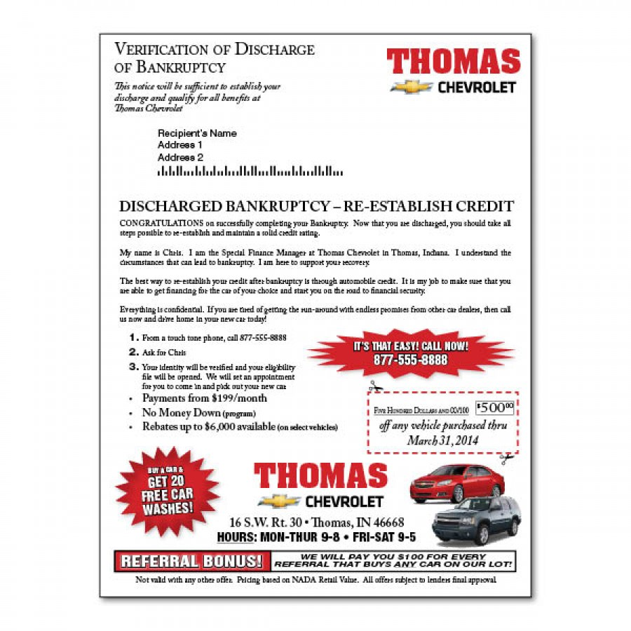 how to get discharge certificatefor bankrupsy