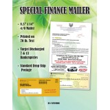 Automotive Direct Mail Bankruptcy Mailers